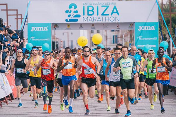 El Ibiza Marathon supera los 2.000 inscritos a dos semanas de su celebración