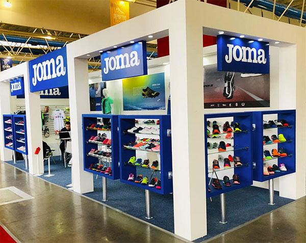 Joma refuerza su imagen en México exponiendo en Sapica