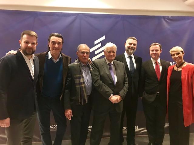 La Acde reconoce los méritos de Adecaf en la Noche del Dirigente Deportivo