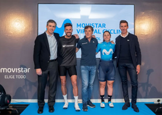 Festibike acogerá la final mundial del Movistar Virtual Cycling