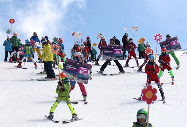 Sierra Nevada lanza 3.000 forfaits a 20 euros para celebrar la primavera