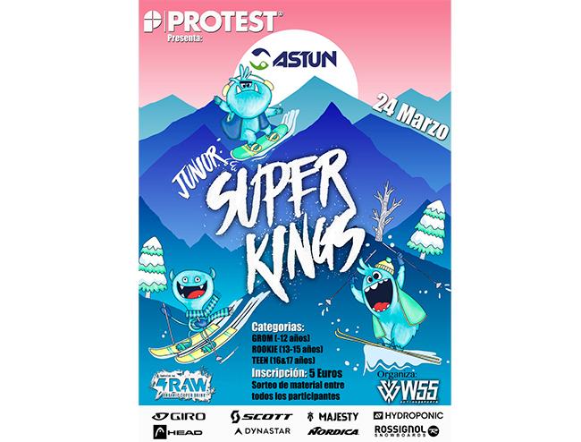 Protest se focaliza en los riders más jóvenes con el Junior Superkings de Astún