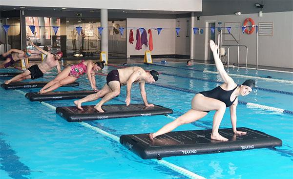 O2 Centro Wellness introduce en España el método de entrenamiento acuático Reax Raft