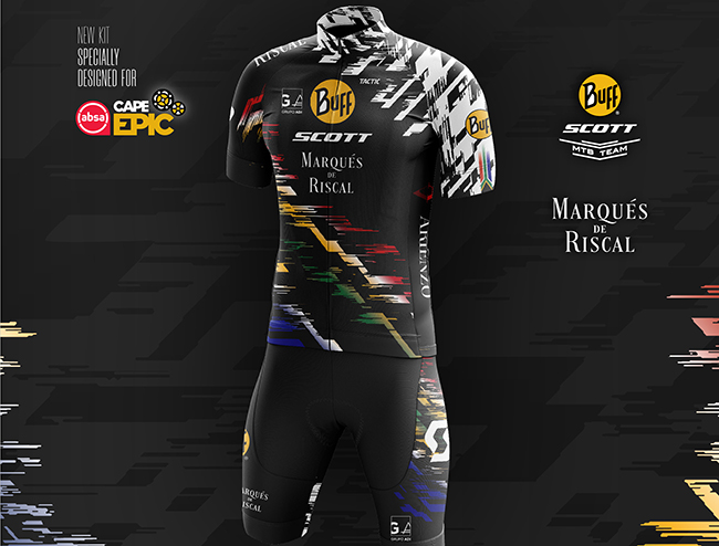 El Buff Scott Team vestirá una edición limitada para la Cape Epic
