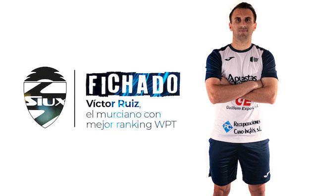 Siux ficha al jugador murciano Víctor Ruiz