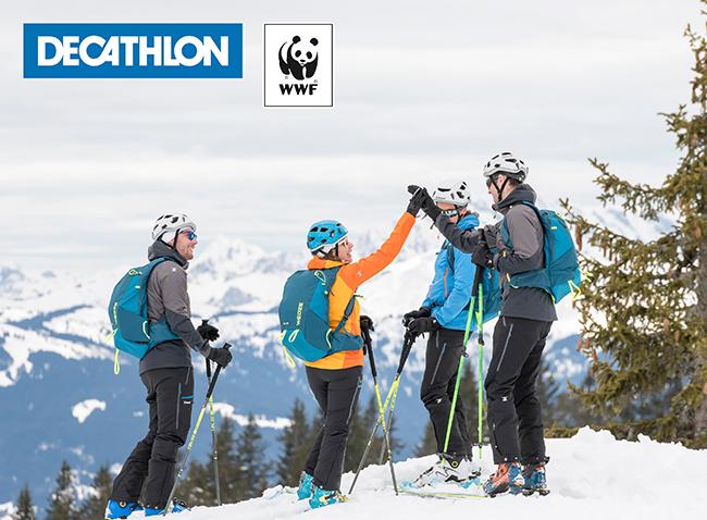 Decathlon y WWF firman un acuerdo para impulsar la conservación del medio ambiente