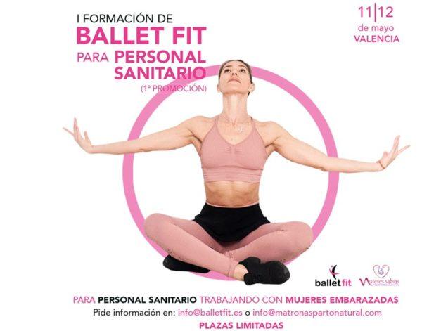 Ballet Fit forma a personal sanitario para mejorar la salud de las embarazadas