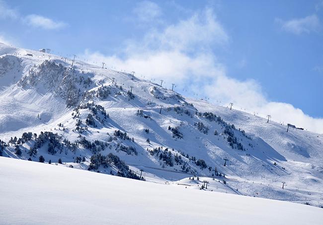 Previsiones moderadas de las tiendas de esquí para Semana Santa