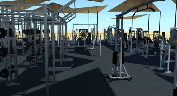 BH Fitness equipa el gimnasio exterior más grande del mundo