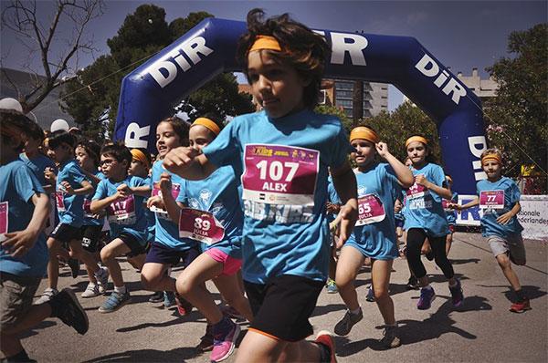 Llega la 6ª edición de la Cursa DiR Kids Guardia Urbana Diagonal