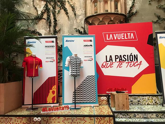 Deporvillage venderá en exclusiva dos maillots de La Vuelta