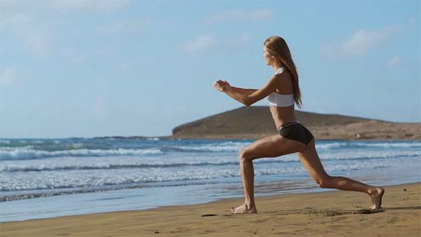 5 sencillos ejercicios para no perder la forma en Semana Santa