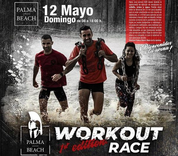 El I Workout Palma Beach Race se celebrará en Mallorca
