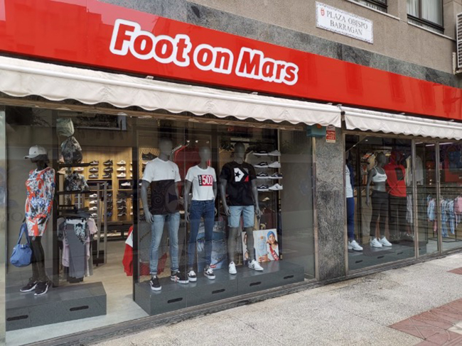 Foot on Mars aterriza en Ceuta