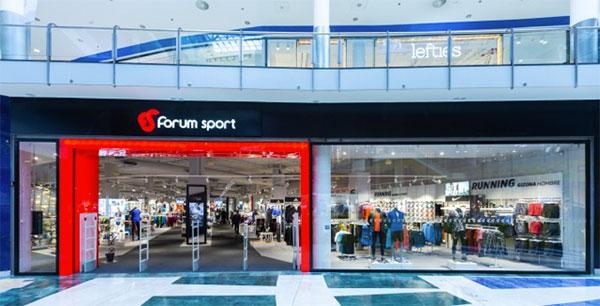 La facturación de Forum Sport creció un 5,31% en 2018