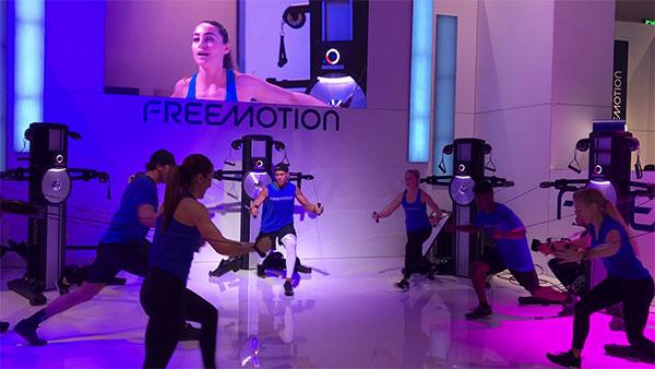 Freemotion presenta una máquina de cables sin inercia en FIBO