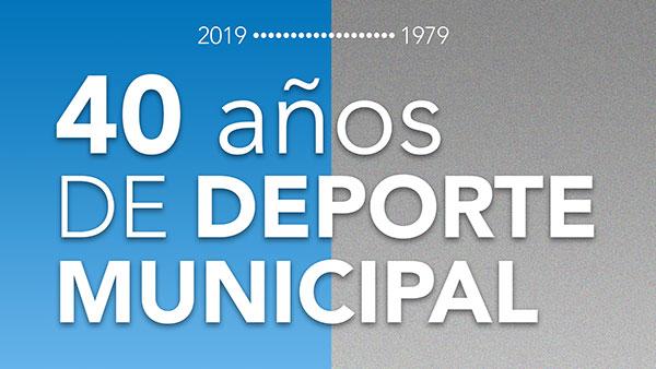 Jornada gratuita de homenaje a los 40 años del Deporte Municipal