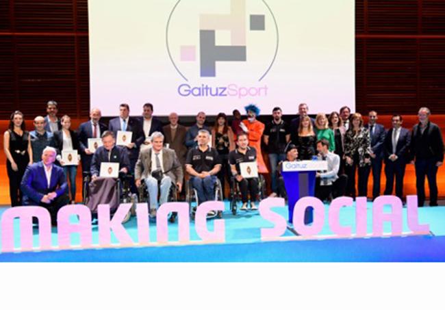 La Kosta Trail, galardonada con un premio GaituzSport por fomentar la inclusión