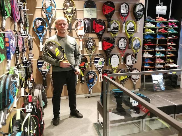 """Sasco Esports considera """"desleal"""" que las marcas gestionen Pro Shops de tenis y pádel"""