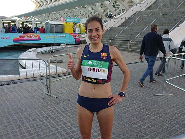 """Marta Galimany: """"Aún no he asimilado la marca que he conseguido en Maratón"""""""