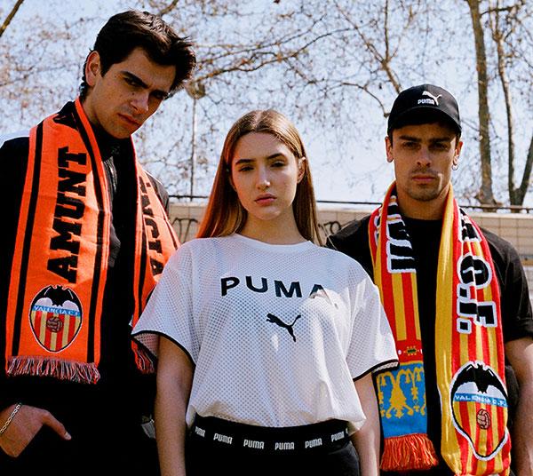 Puma anuncia un acuerdo de larga duración con el Valencia CF
