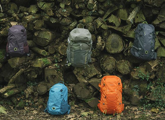 Ternua lanza su primera colección de mochilas con tejidos 100% reciclados
