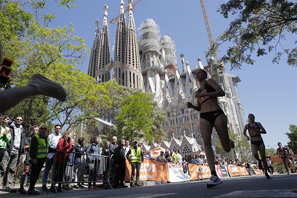 La 35a La Milla Sagrada Familia reúne a cerca de 1.500 atletas