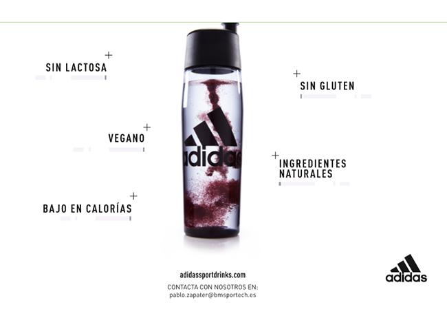 BM Sportech asume la distribución de la nueva línea de bebidas deportivas de Adidas