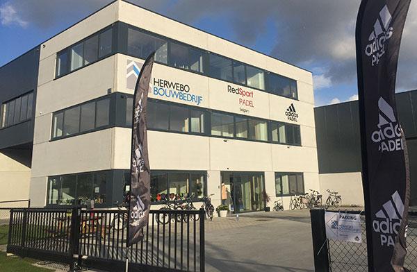 Adidas Pádel estrena sede en Bélgica