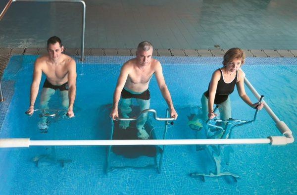 Aqua SportClubs incorpora a su piscina un corner de Poolbiking Barcelona