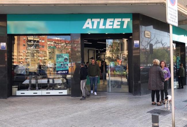 Atleet suma nueve puntos de venta tras abrir en El Prat de Llobregat