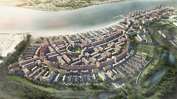 Londres combate el sedentarismo construyendo un barrio residencial saludable