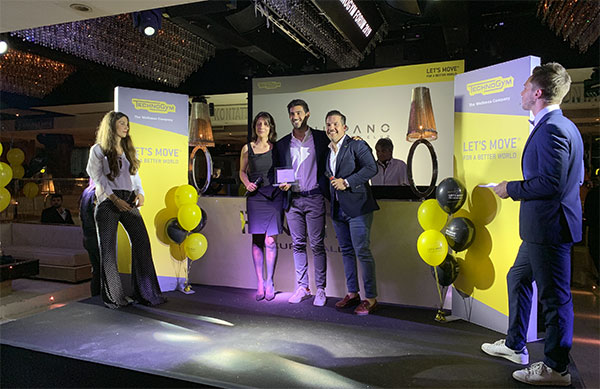 Galisport e Hispano Happiness Club reciben el premio Technogym