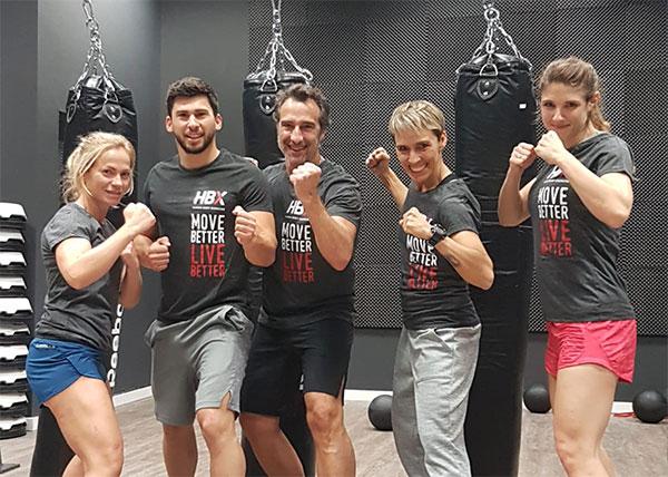 Synergym se suma a la fiebre por el Boxing de la mano de HBX