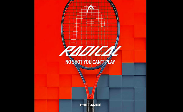 Head lanza su nueva línea de raquetas Graphene 360 Radical