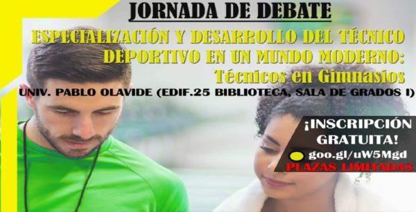 Jornada de debate sobre la 'Especialización y desarrollo del técnico deportivo'