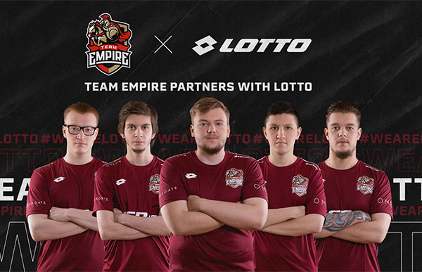 Lotto coge fuerza en los e-Sports con el patrocinio del Team Empire