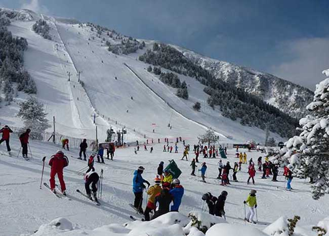 El récord de apertura de Masella no se refleja en las ventas de esquí