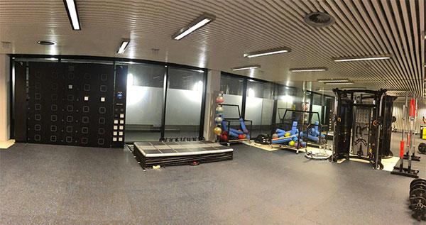 Matrix y Fitness Deluxe equipan el gimnasio del Mutua Madrid Open