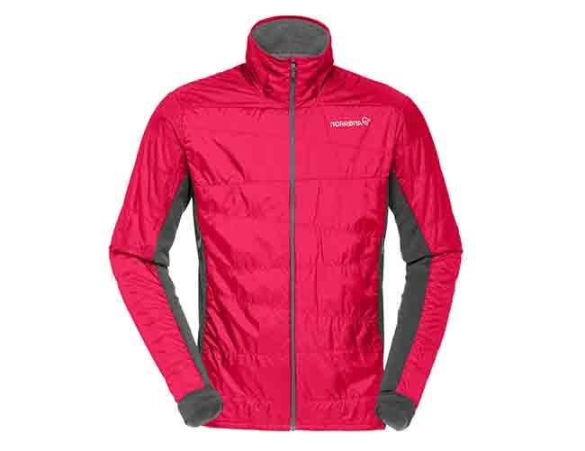 Polartec aúna sus tejidos Alpha y Strech reciclados en la nueva chaqueta de Norrona