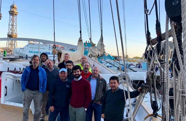 La Volta a Menorca 2019 en patín a vela empieza a calentar motores