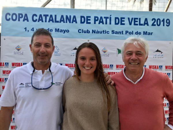 Nina Esteba enhebra su tercer podio en la Copa Catalana