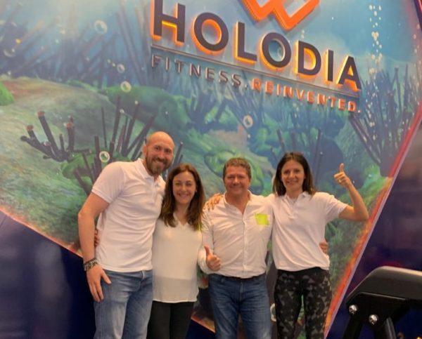 Rocfit y Holodia implantan la realidad virtual en los gimnasios