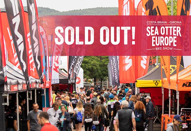 La zona expo de Sea Otter Europe cuelga el cartel de completo