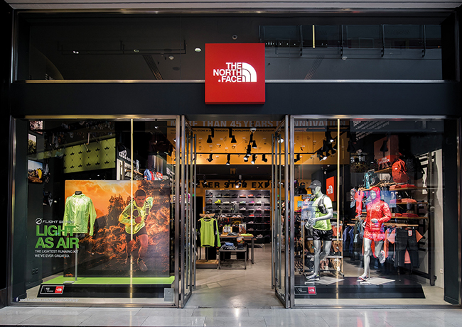 The North Face crece un 9% en el último año
