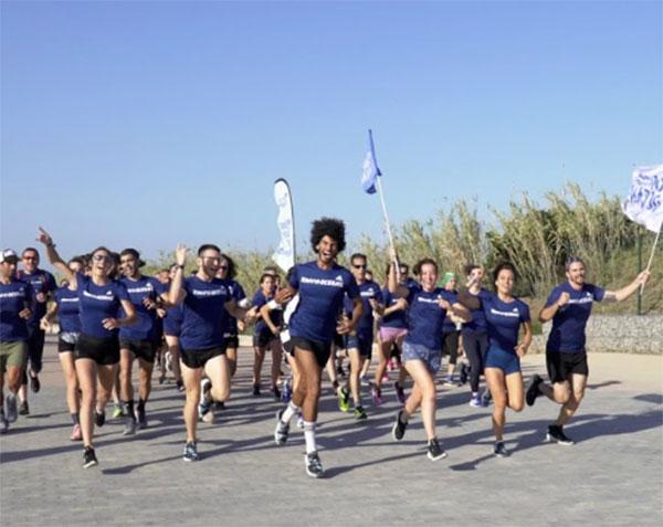 Adidas reúne en Barcelona a 3.000 runners para correr por los oceanos