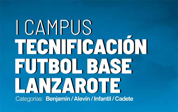 Ebone lanza el primer Campus de Tecnificación Fútbol Base en Lanzarote