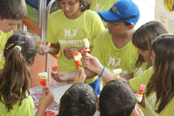 Veritas proveerá los menús de los Campus de Verano del Grupo Duet