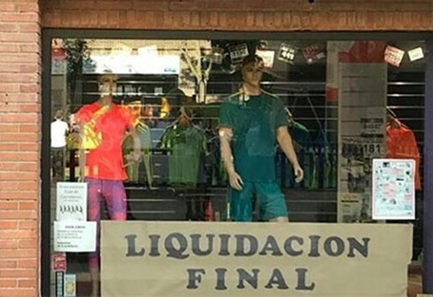 Andalucía, Castilla La Mancha y Cataluña, las que pierden más empresas minoristas de comercio deportivo