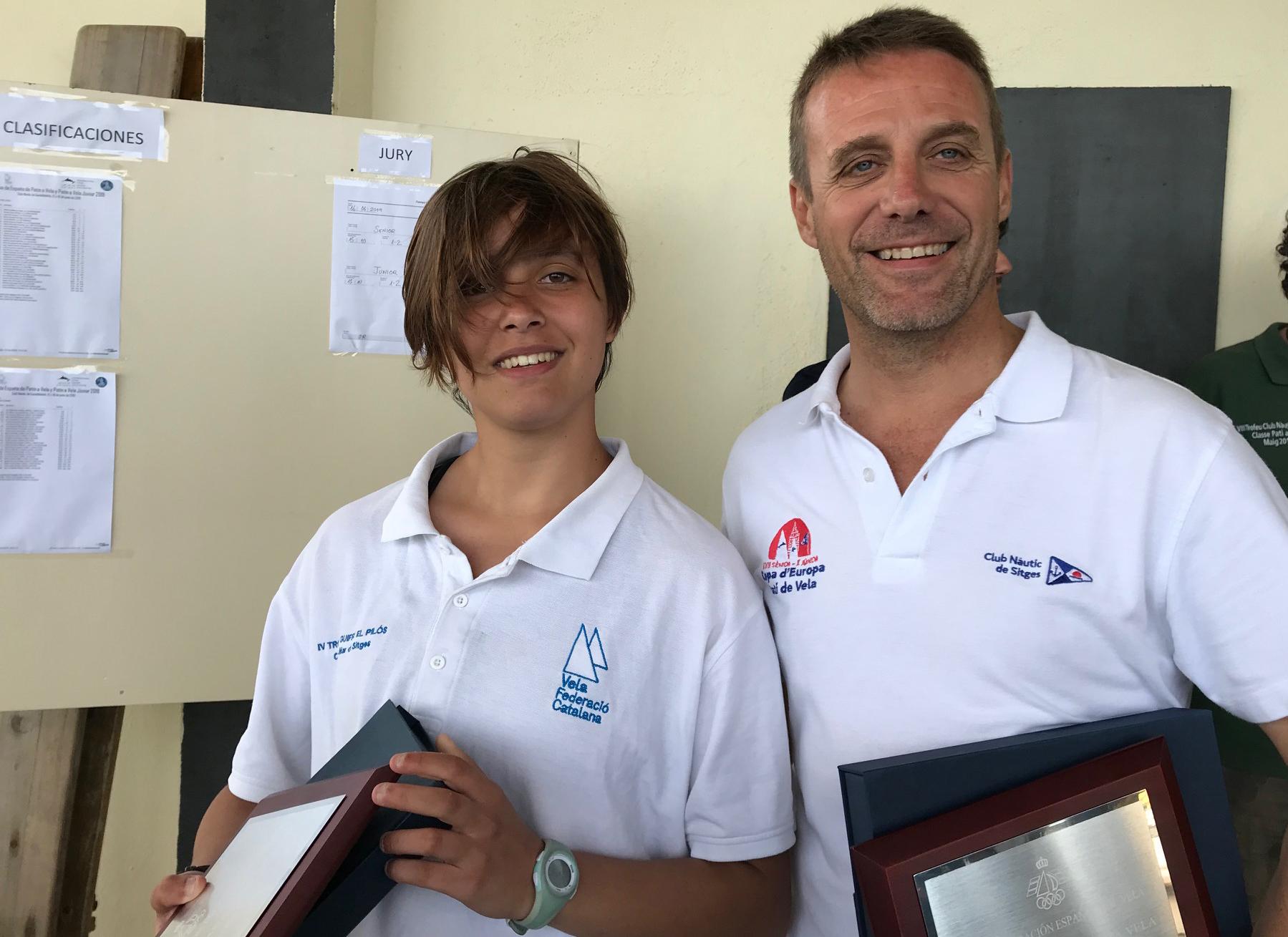 Albert Batlleriá y Zoa Masana ganadores de la Copa de España 2019